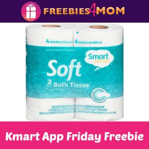 Free 4-pack Bath Tissue at Kmart