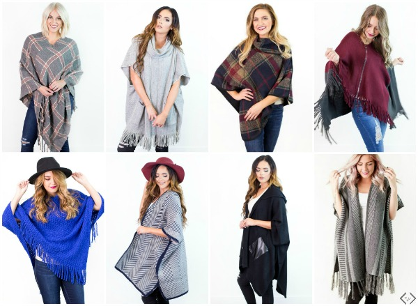 2 Ponchos $32.95 ($66 Value)