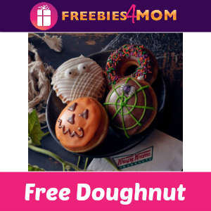 Free Halloween Doughnut at Krispy Kreme TODAY