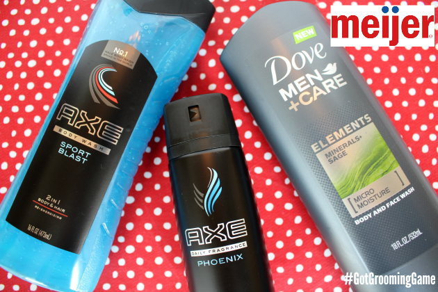 Save on Dove, Degree, AXE & Suave at Meijer