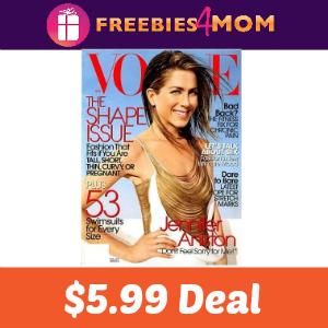 💋Magazine Deal: Vogue $5.99