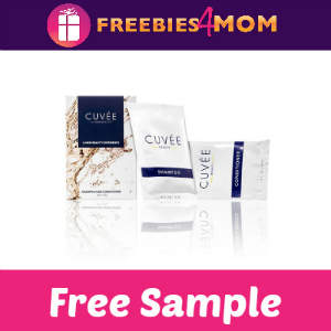 Free Sample Cuvée Shampoo and Conditioner