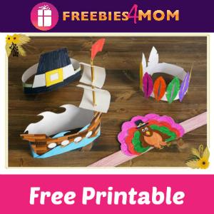 10 Free Thanksgiving Hat Printables