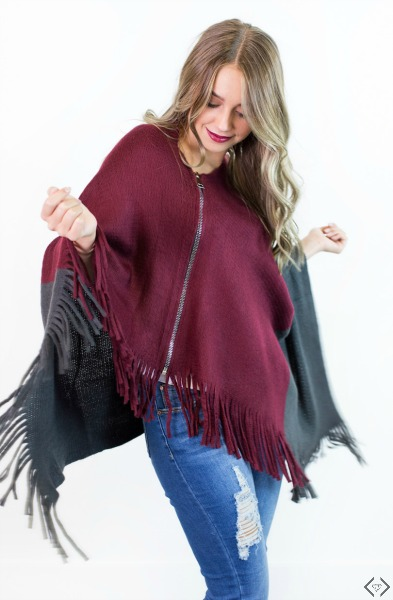 40% off Winter Ponchos, Kimonos & Wraps