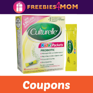 Coupons: Save on Culturelle Probiotics