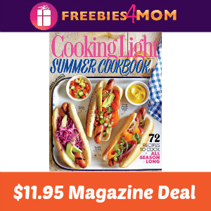Magazine Deal: Cooking Light $11.95