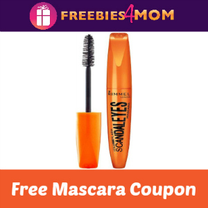 Free Rimmel Mascara w/Eye Product Purchase