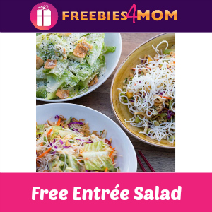 Free Entrée Salad (w/purchase) at P.F. Chang's Jan. 10