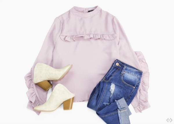 40% off Ruffle Tops (Start at $9)