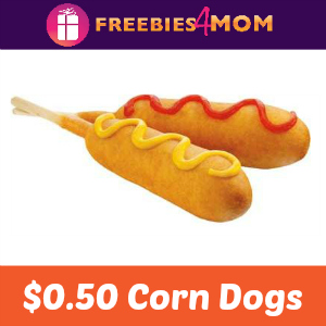 $0.50 Corn Dogs at Sonic December 5