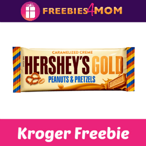 Free Hershey Gold Bar at Kroger