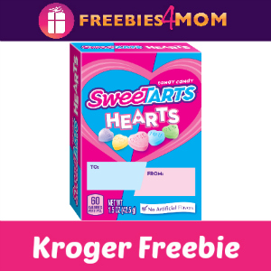 Free Sweetarts Hearts Box at Kroger