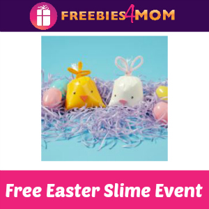 Free Easter Slime Event at Michael's March 31