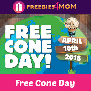 Free Cone Day at Ben & Jerry's April 10