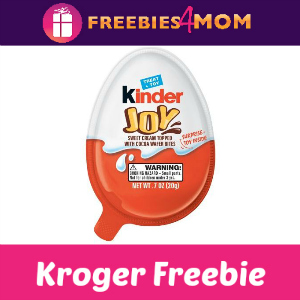 Free Kinder Joy at Kroger