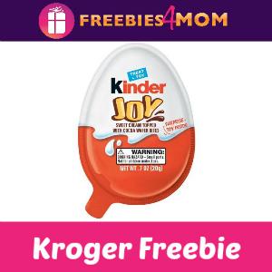 Free Kinder Joy at Kroger