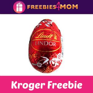 Free Lindt Lindor Milk Chocolate Egg at Kroger