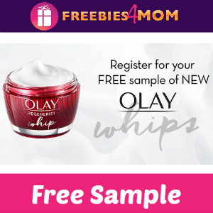 Free Sample Olay Regenerist Whip Moisturizer