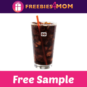 Free Cold Brew Sample at Dunkin' Donuts