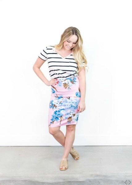 Floral Skirts Starting Under $10