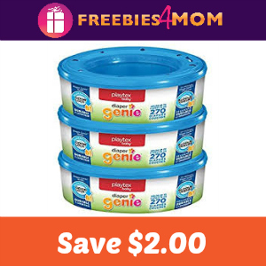 Save $2.00 on any Diaper Genie Multi-pack Refill
