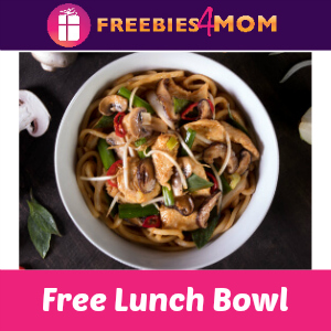 Free Lunch Bowl (w/purchase) at P.F. Chang's April 11