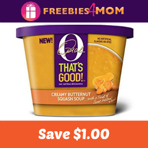 Save $1.00 on any O, That's Good! Soup