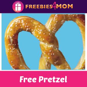 Free Pretzel at Wetzel's Pretzels April 26