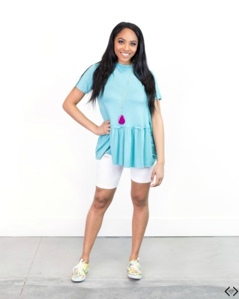 45% off Knotted, Ruffles and Tie Summer Tees