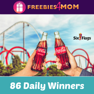 Sweeps Coca-Cola Six Flags Single Day Tickets