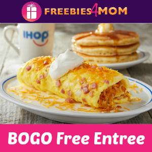 IHOP BOGO Free Entree