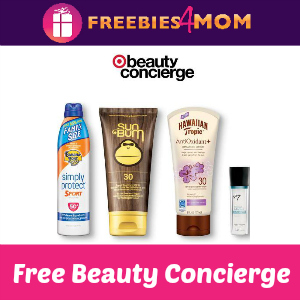 Free Target Beauty Concierge June 2