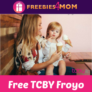 Free Mother's Day Froyo at TCBY