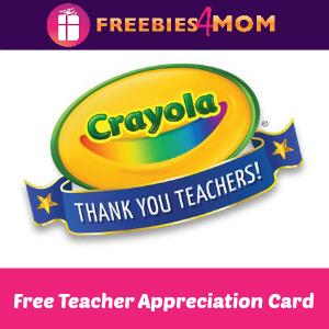 Free Teacher Appreciation Card Event at Michaels