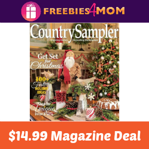 Magazine Deal: Country Sampler $14.99