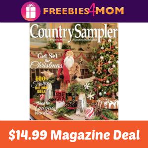Magazine Deal: Country Sampler $14.99
