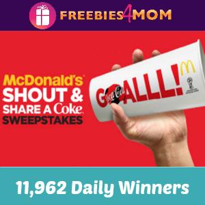 Sweeps McDonald's & Coke World Cup
