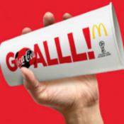 McDonald's Shout & Share a Coke FIFA World Cup