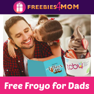 Free Froyo for Dads at TCBY