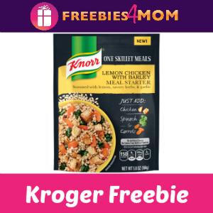 Free Knorr One Skillet Meal at Kroger