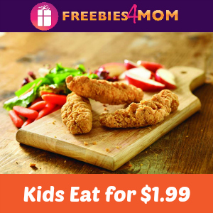 Kids Eat for $1.99 on Wednesdays at Red Robin