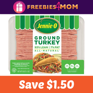 Save $1.50 on any Jennie-O Ground Turkey