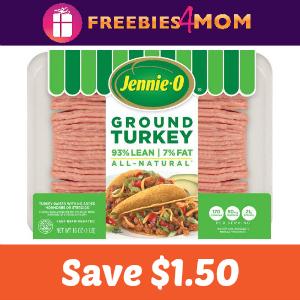 Save $1.50 on any Jennie-O Ground Turkey