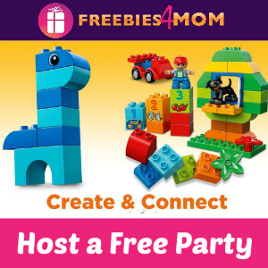 Host a Free Lego Duplo Party
