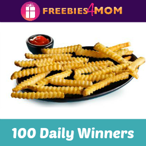 Sweeps National French Fry Day (ends 7/12)
