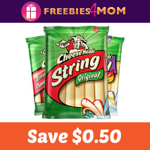 Coupon: Save $0.50 on Frigo Cheese Heads