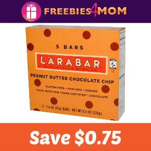 Coupon: Save $0.75 on any LÄRABAR multipack