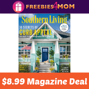 Magazine Deal: Southern Living $8.99