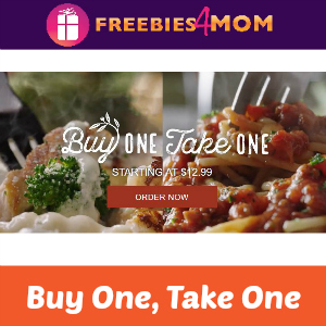 Buy One, Take One at Olive Garden