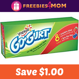 Coupon: $1.00 off Yoplait Kids products